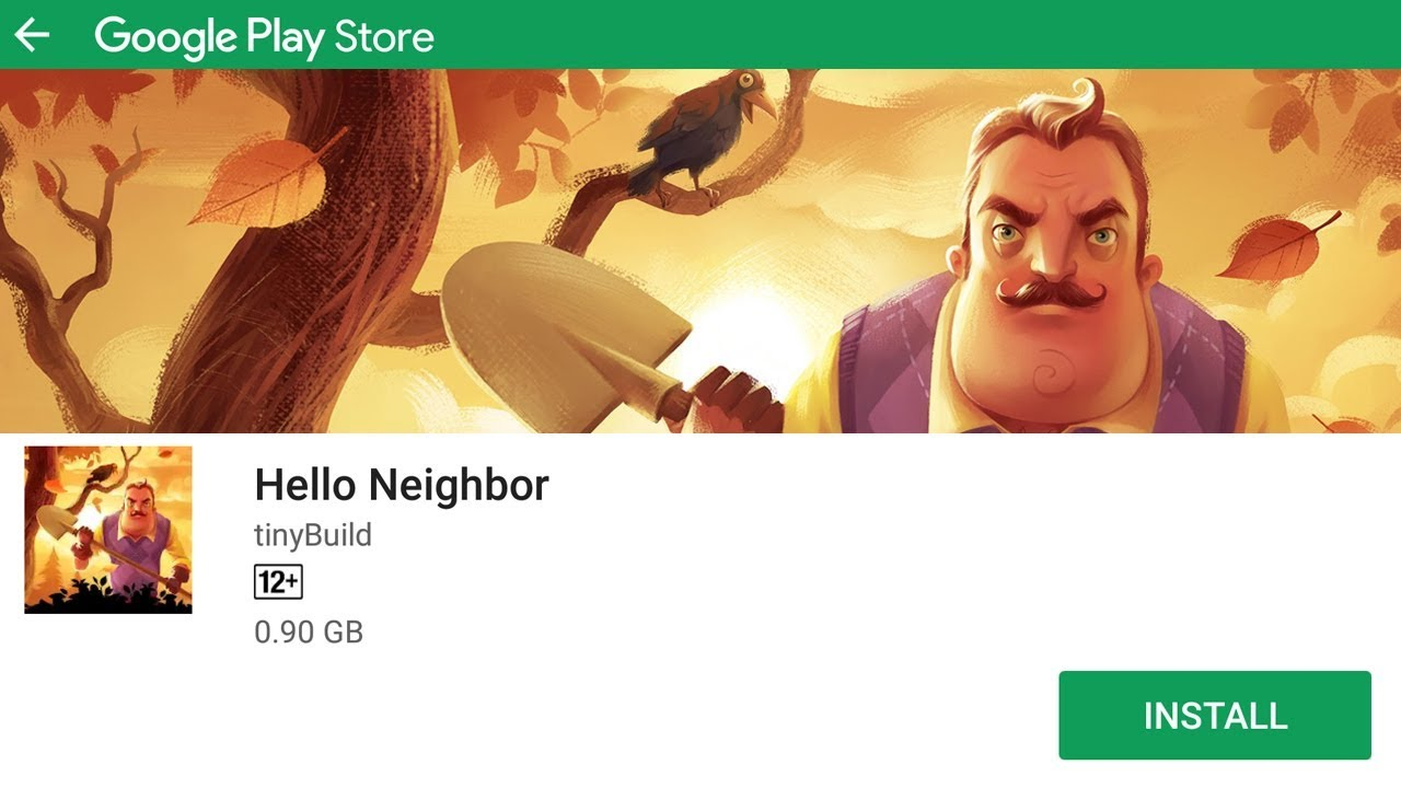 HELLO NEIGHBOR - ANDROID GAMEPLAY