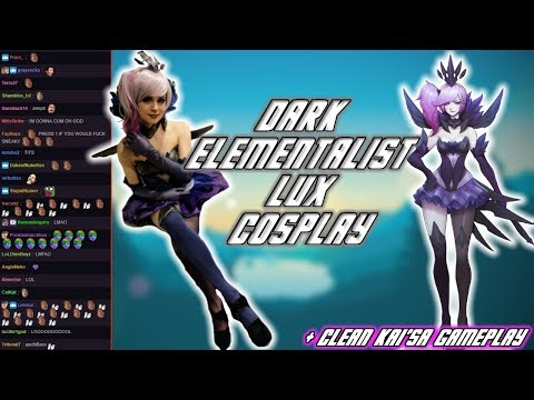 C9 Sneaky | Dark Elementalist Lux Cosplay (+ Is Kai'Sa Too Strong?)