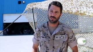 """Hugo Silva: """"Llegó un punto en que éramos los más militares de todos"""""""