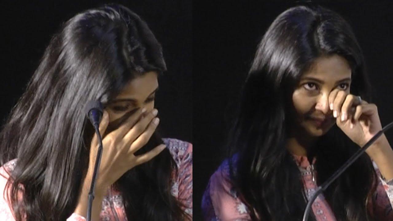 Image result for keerthy pandiyan breaks down on stage