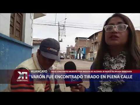 VARÓN FUE ENCONTRADO TIRADO EN PLENA CALLE