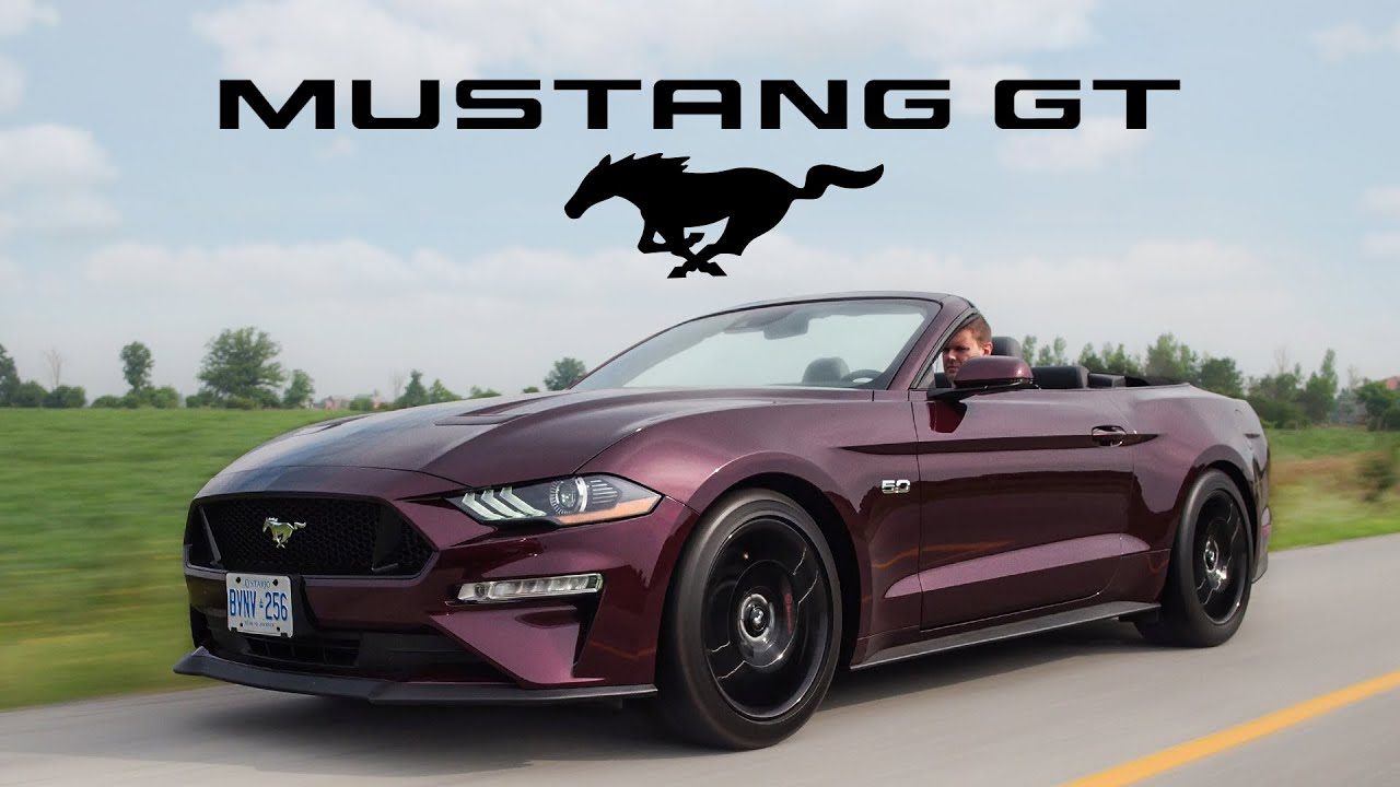 2018 ford mustang gt convertible review huge improvement over 2017 driiive tv find the. Black Bedroom Furniture Sets. Home Design Ideas