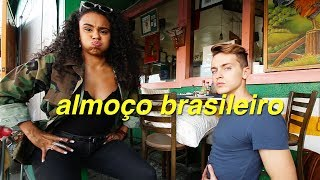 ALMOÇO BRASILEIRO EM LOS ANGELES