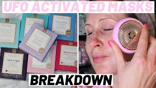 FOREO UFO 2 SMART MASK BREAKDOWN & BENEFITS OF EACH