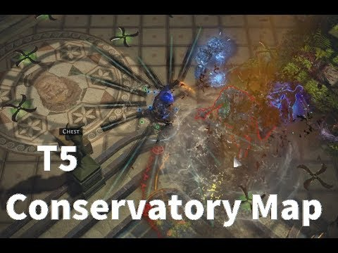 PathOfExile 3.1 | T5 Conservatory Map