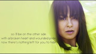 Maria Mena -  LIES (they never leave their wives) LYRICS