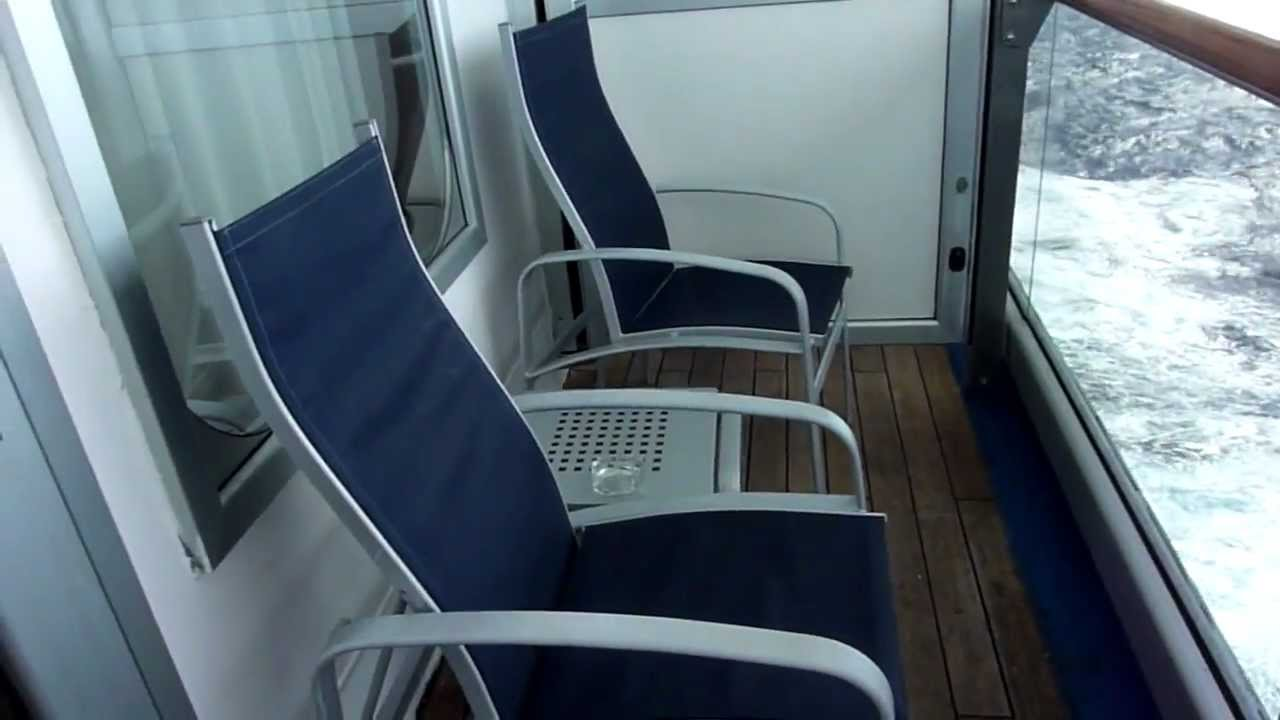 Carnival triumph balcony cabin 8391 youtube for Cruise balcony vs suite