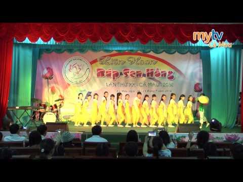 Liên hoan Búp Sen Hồng lần thứ 20_Cà Mau năm 2014_Đơn vị tinh An Giang