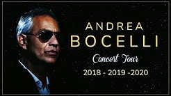 Andrea Bocelli - Concert Tour (Dates/Tickets) 2018/2019/2020