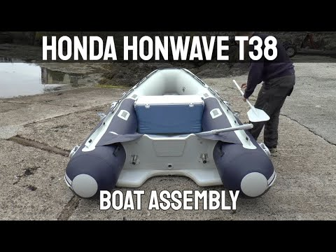 Honda Honwave T38 Inflatable Boat Assembly