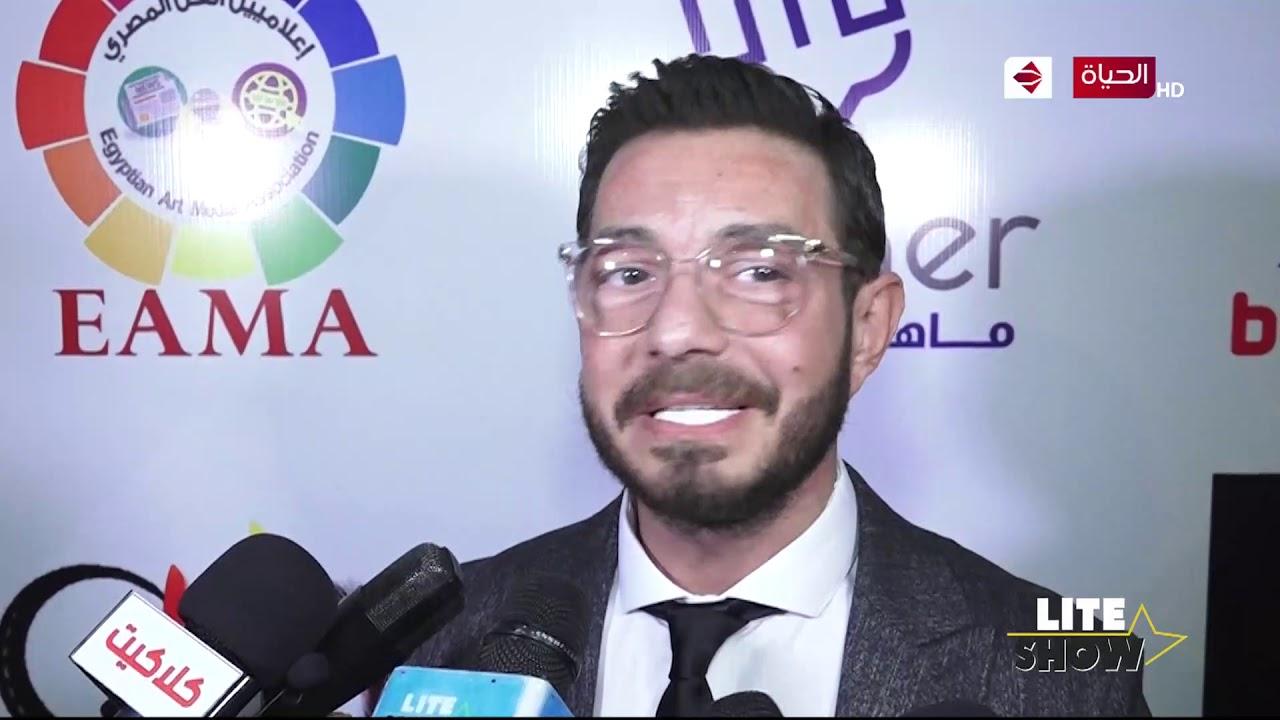 lite show -كلمة الفنان أحمد زاهر من مهرجان همسة بعد حصوله على أحسن ممثل في مسلسل