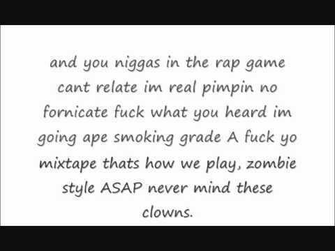 Bath Salt Lyrics A$AP Mob & Flatbush Zombies