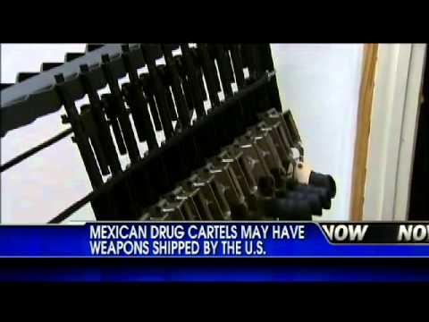 U.S. military grade guns ending up in Mexican cartel hands