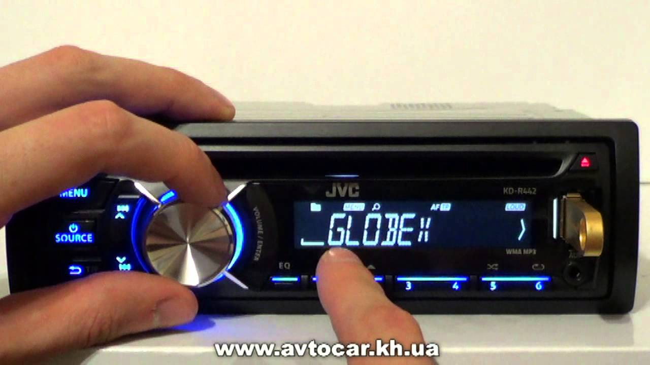 JVC KD-R452 Receiver Drivers Windows XP