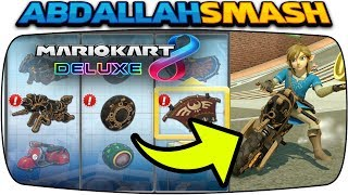 MASTER CYCLE ZERO & BOTW LINK IN MARIO KART 8 DELUXE!  How Good Are They?