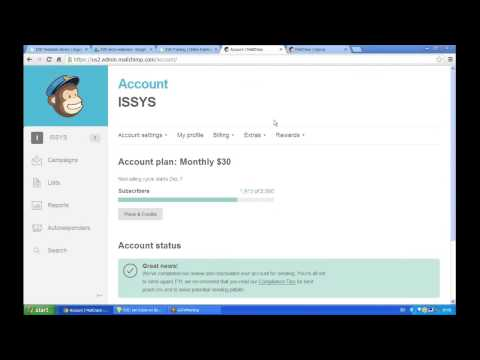 EVE Agent | How to Create a MailChimp Account and Link to EVE