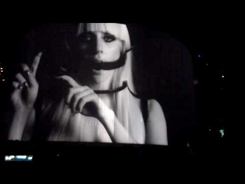 Lady Gaga - Little Monster Film + Violin Solo By Judy Kang + Poker Face  in Boston July 2