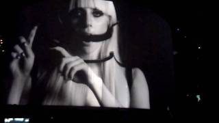 Lady Gaga - Little Monster Film + Violin Solo [By Judy Kang] + Poker Face (Live in Boston July 2) HD