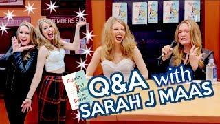 Q&A WITH SARAH J MAAS ON THE ABB TOUR