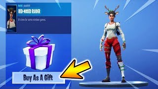 NEW SKINS GIFT FUNCTION IS DA!😍🔥 | HIGHEXPLOSIV & GROUP KEILE | Fortnite Battle Royale