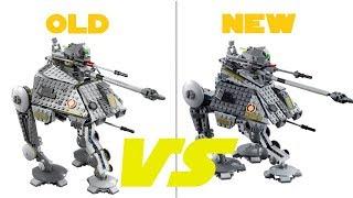 Лего Зоряні війни 75234 на-АП Walker проти 75043 по-АП порівняння