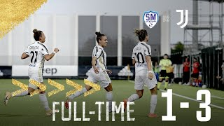 San Marino Academy - Juventus Women 1-3 Serie A Femminile
