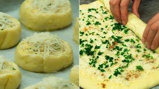 Обожаю такие рецепты! Вкусные, ароматные, бюджетные булочки  спасут любую ситуацию! | Appetitno.TV