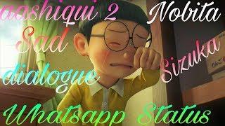 Nobita 😭Sad Whatsapp Status    Crying 😭😭sinzuka😭  Nobita Sizuka