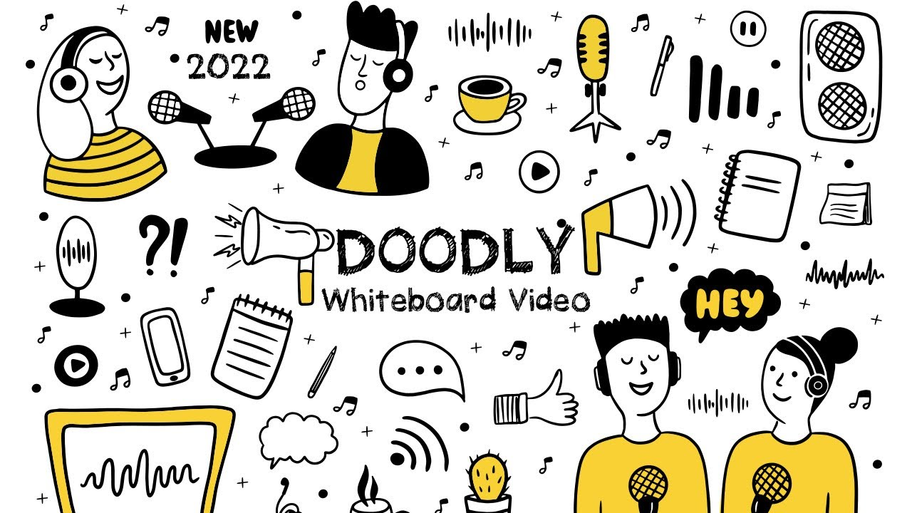 Full Doodly Make Doodle Sketch Animation Or Whiteboard Drawing Style Explainer Videos Youtube