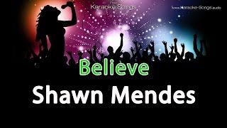 Shawn Mendes Believe from Disney Descendants Instrumental Karaoke Version with vocals and lyrics