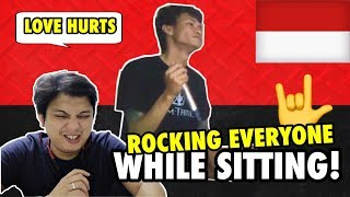 LOVE HURTS COVER by DENS GONJALES (Reaction)