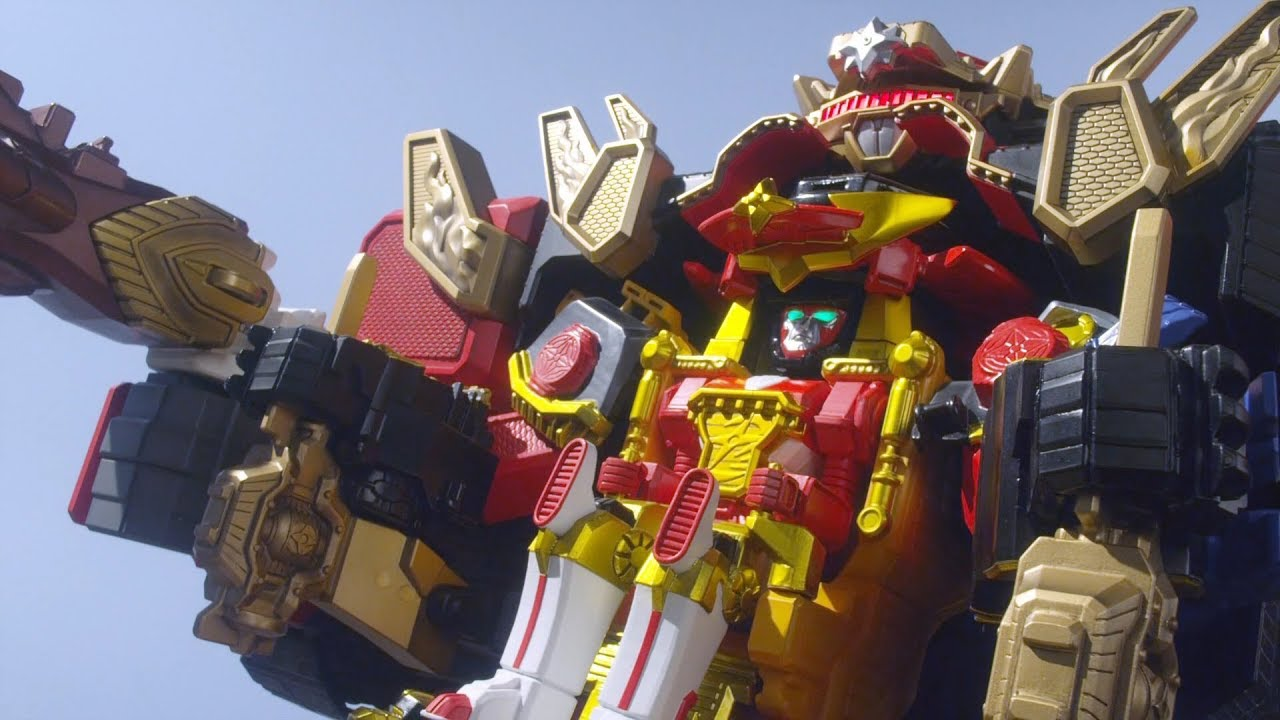Power Rangers Super Ninja Steel Blaze Megazord NEW 2018 Combine with Zords