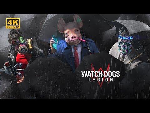 Watch Dogs: LEGION World Premiere Gameplay Trailer in 4K | E3 2019 |