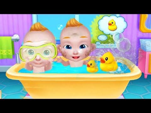Играем в игру мультик для девочек: ухаживаем за малышом Беби Босс/ Зырики ТВ