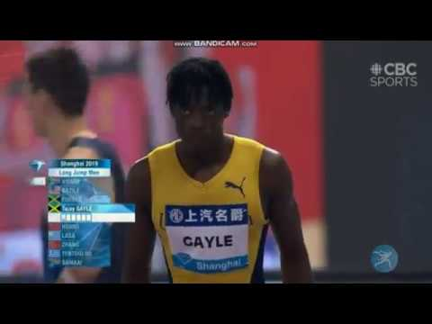 Men's Long Jump Diamond League Shanghai 2019 - English Commentary