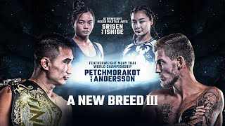[Full Event] ONE Championship: A NEW BREED III