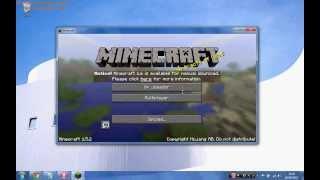 Como baixar e Instalar Minecraft (1.5.2) Pirata (Video Aula Explicando Tudo)