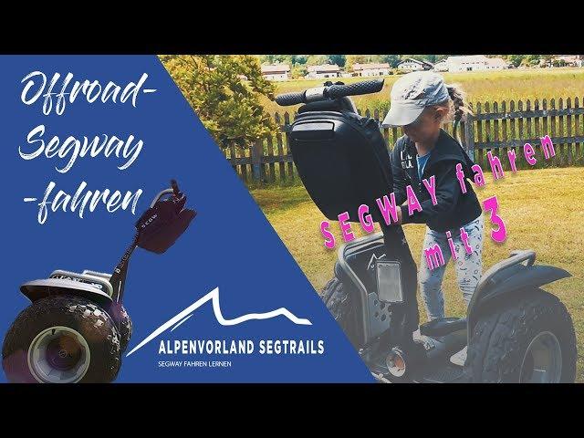 Segway Touren in den Bergen - Segway fahren mit 3 Jahren