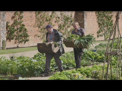 Autumn Harvest In Hillsborough Castle's Walled Garden