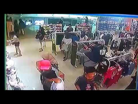 Pencurian di mall yg terekam cctv