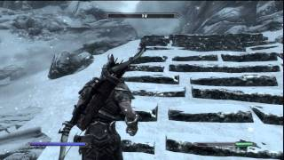 The Elder Scrolls V: Skyrim (PS3) HD Part 13 - High Hrothgar