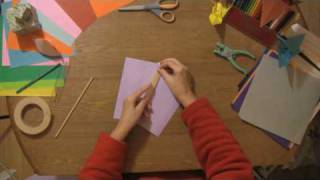 Paper Craft Projects : How to Make a Paper Kite
