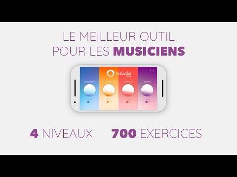 Meludia Melody : la façon la plus simple d'acquérir une oreille musicale!