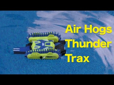Air Hogs Thunder Trax Review, RC Tank That Transforms Into A Boat