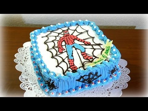 Детские торты для мальчиков