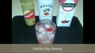 #43 Malibu Bay Breeze ! Drink Super Refrescante !