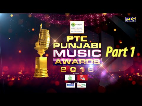 PTC Punjabi Music Awards 2016 | Part 1 of 4 | Full Event | Biggest Celebration | PTC Punjabi