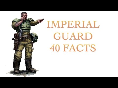 40 Facts and Lore about the Imperial Guard Warhammer 40K