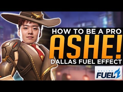 Overwatch: How To Be A Pro ASHE! - Dallas Fuel Effect Guide