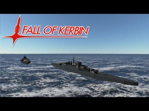 Fall Of Kerbin #27 - Battle Of The Lodnie Strait - Kerbal Space Program